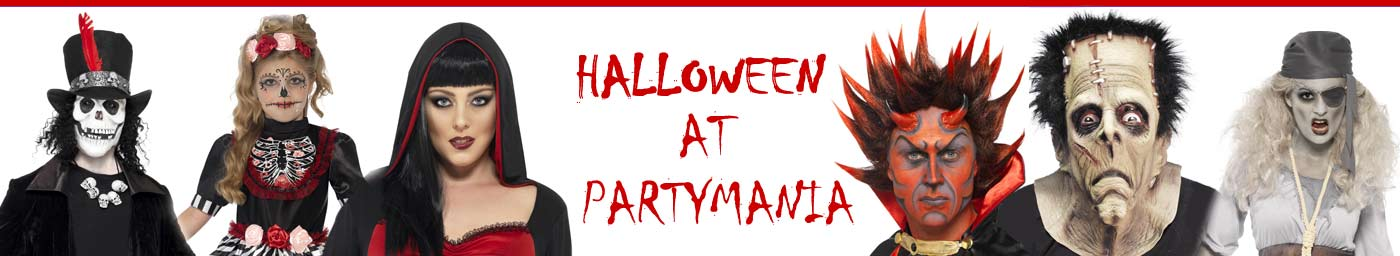 Partymania Fancy dress costumes Aberdeen Scotland