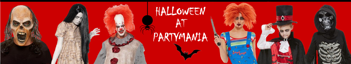 Partymania Halloween Fancy dress costumes Aberdeen Scotland